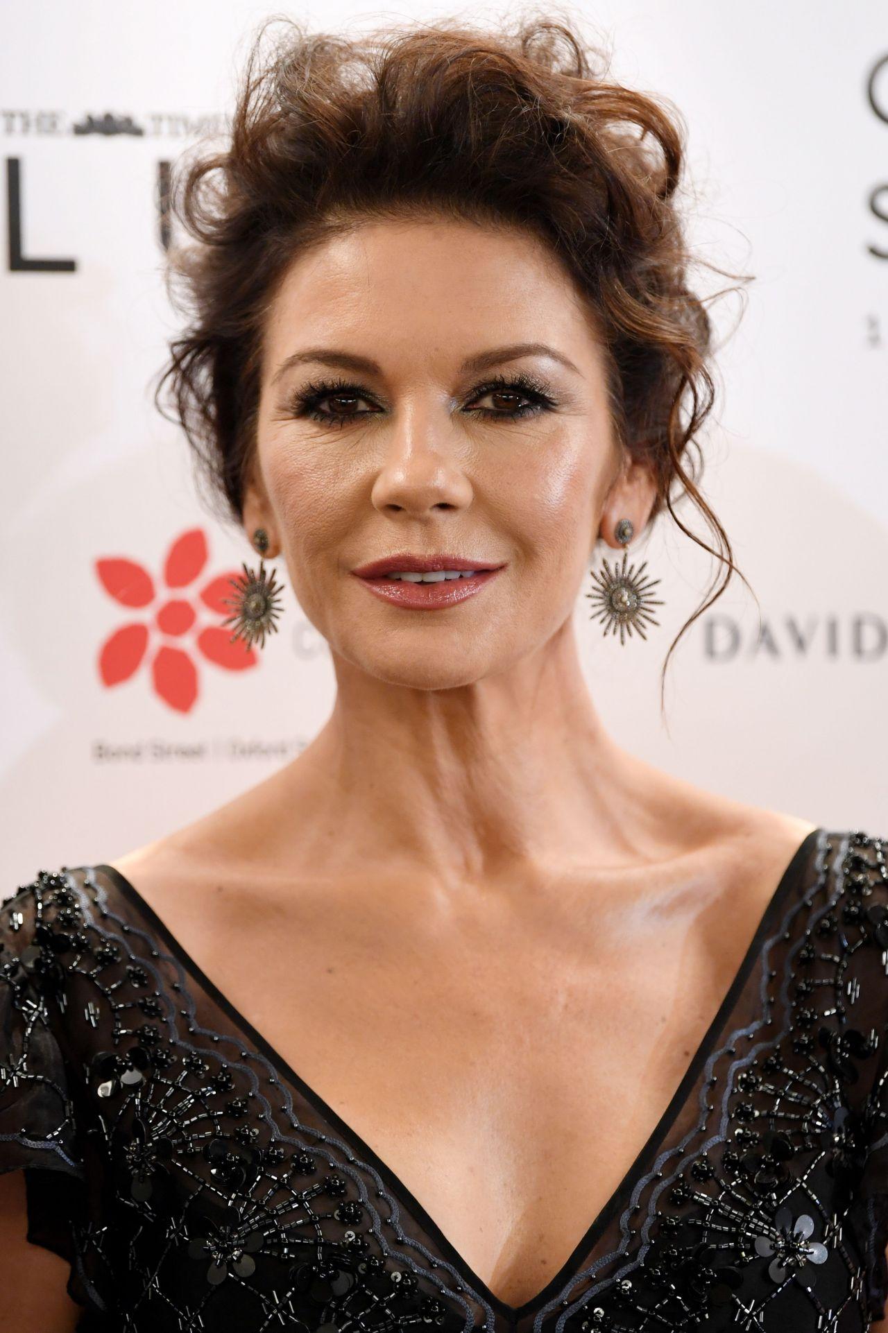 Catherine Zeta-Jones - Walpole British Luxury Awards 2017