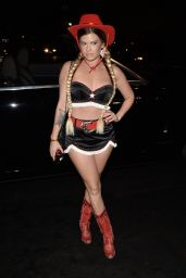 Chanel West Coast – Treats! Magazine Halloween Party in Los Angeles 10/31/2017