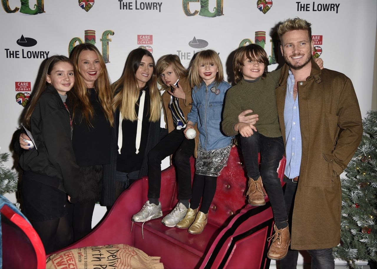 Charley Webb – Elf The Musical Press Night and Gala Performance in Manchester