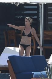 Charlize Theron Bikini Candids - Thanksgiving Weekend in Los Cabos 11/23/2017