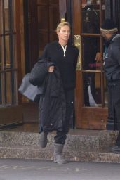 Charlize Theron - Leaving Her Hotel in Montreal, Canada 11/08/2017