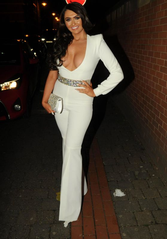 Charlotte Dawson Night Out Style - Leeds, UK 11/12/2017