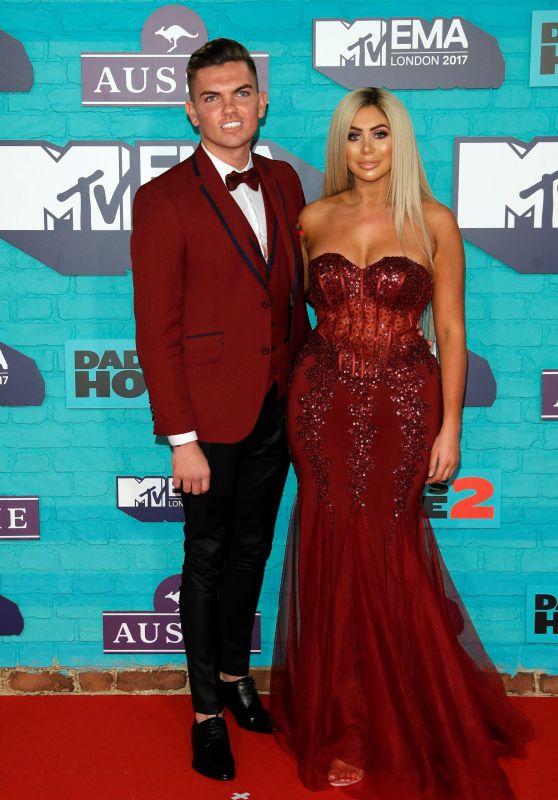 Chloe Ferry – MTV Europe Music Awards 2017 in London