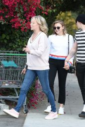 Chloe Grace Moretz, Her Mom and Brooklyn Beckham - Out in LA 11/18/2017