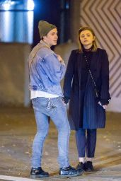 Chloe Grace Moretz - Romantic Date With Brooklyn Beckham in NYC 11/09/2017