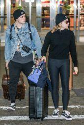 Chloe Grace Moretz With Brooklyn Beckham - NYC 11/27/2017