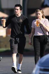 Chloe Moretz and Brooklyn Beckham Hold Hands - Southern California 11/24/2017