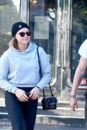 Chloe Moretz and Brooklyn Beckham - Leave XIV Karats Jewelry Store in Beverly Hills 11/26/2017