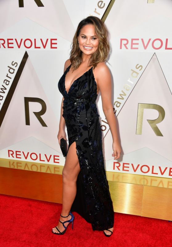 Chrissy Teigen – #REVOLVEawards 2017 in Hollywood