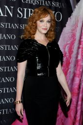 "Christina Hendricks - ""Dresses To Dream About"" Book Release in New York City"