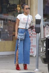 Christina Milian Street Fashion - West Hollywood 11/16/2017
