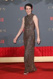 """Claire Foy – """"The Crown"""" TV Show Premiere in London"""
