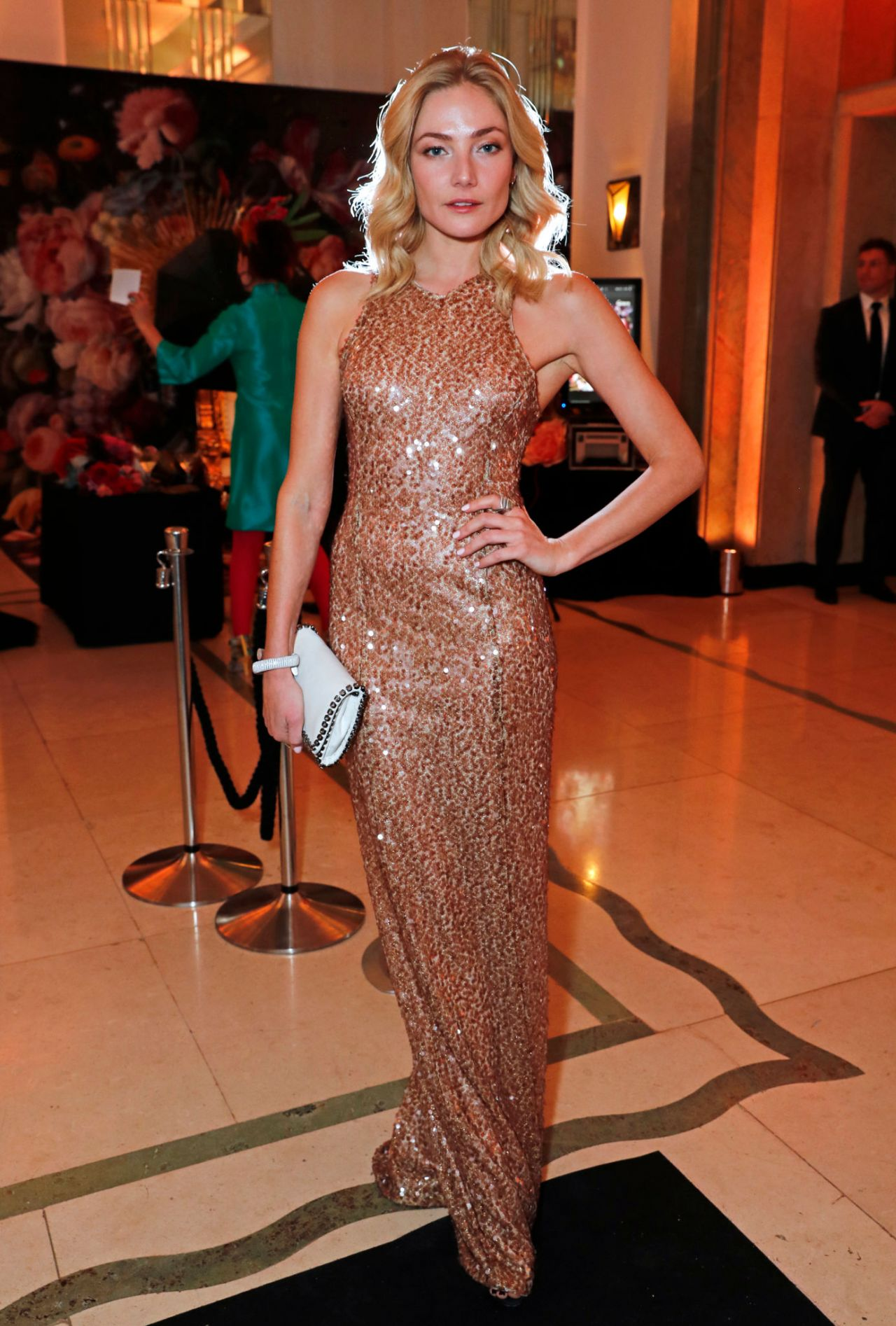 Clara Paget - Lady Garden Gala in London