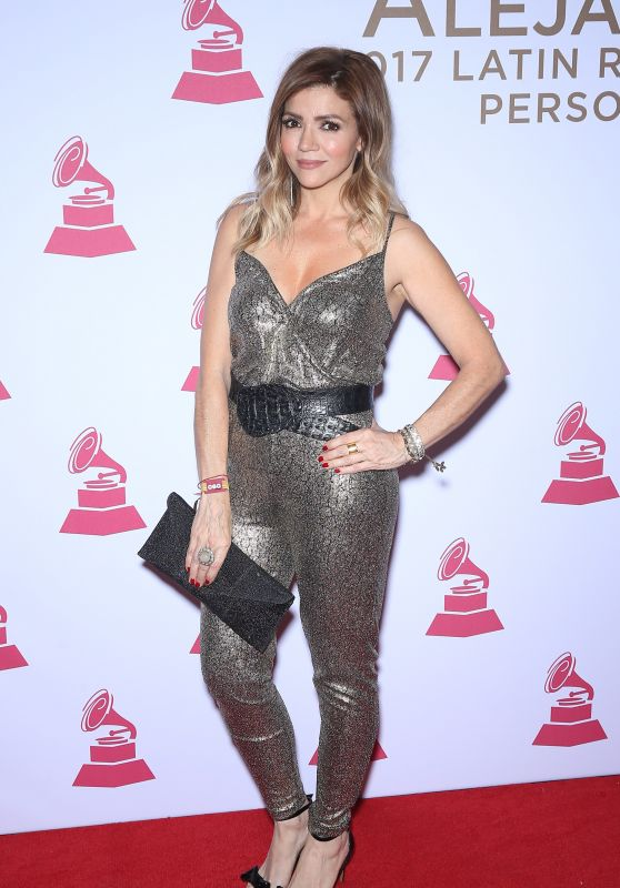 Claudia Betancur – Latin Recording Academy Person of the Year in Las Vegas 11/15/2017