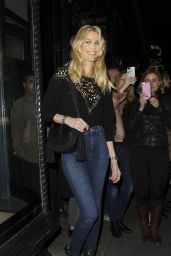 Claudia Schiffer Casual Style - London 11/22/2017