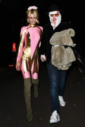 Claudia Schiffer - Jonathan Ross Halloween Party in London 10/31/2017