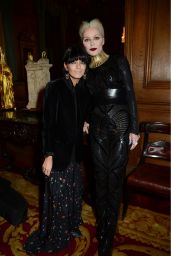 Claudia Winkleman and Daphne Guinness - The Leopard Awards 2017 in London