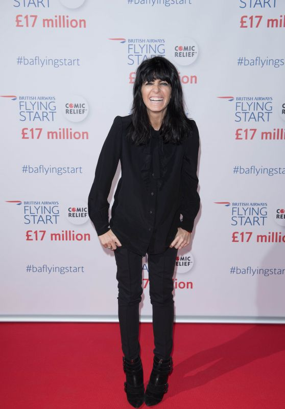 Claudia Winkleman – Reebok's Workout Center La.Salle.De.Sport Launch in Paris 11/16/2017