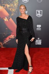 "Connie Nielsen – ""Justice League"" Red Carpet in Los Angeles"