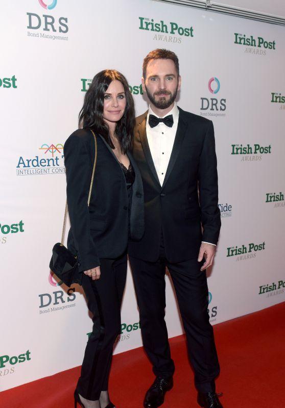 Courteney Cox - Irish Post Awards 2017 in London 11/23/2017