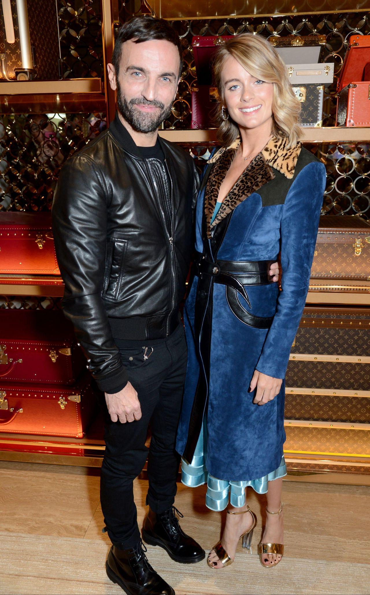 Cressida Bonas Louis Vuitton X Vogue Gingernutz Event