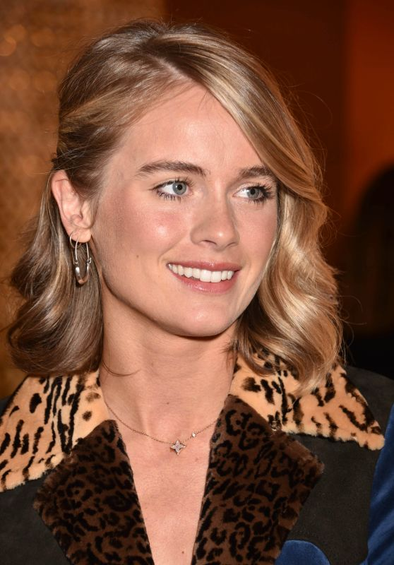 "Cressida Bonas – Louis Vuitton x Vogue ""Gingernutz"" Event in London"