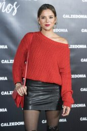 Cristina Alarcon at Calzedonia Party in Madrid