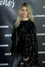 Cristina Tosio at Calzedonia Party in Madrid