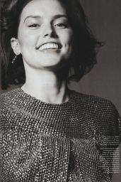 Daisy Ridley - ELLE Magazine UK December 2017 Issue