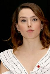 "Daisy Ridley - ""Murder on the Orient Express"" Press Conference in London"