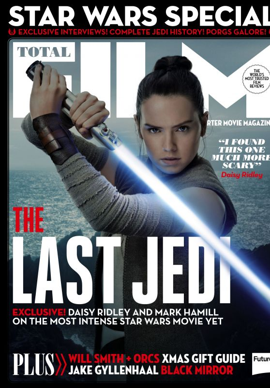 Daisy Ridley - Total Film Magazine January 2018 Issue