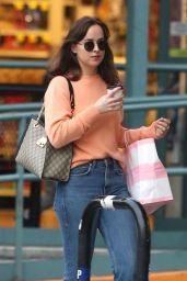 Dakota Johnson Drinks Coffee - Out in LA 11/12/2017