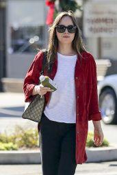 Dakota Johnson - Out in Los Angeles 11/08/2017