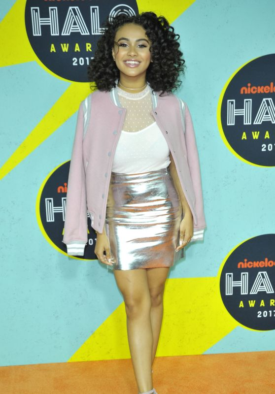 Daniella Perkins – 2017 Nickelodeon Halo Awards in NYC