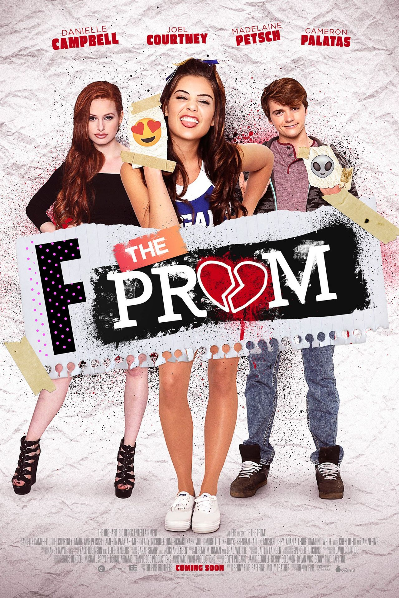 danielle campbell and madelaine petsch famp the prom 2017