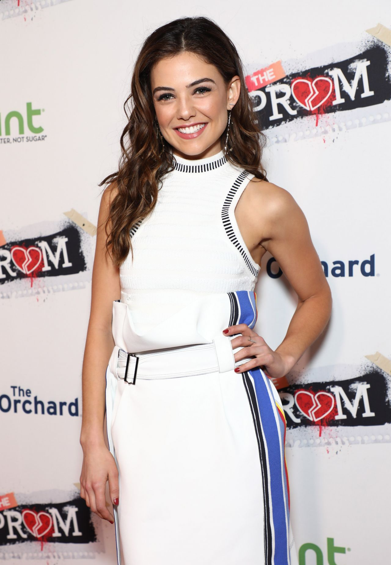 danielle campbell quotfamp the promquot premiere in hollywood