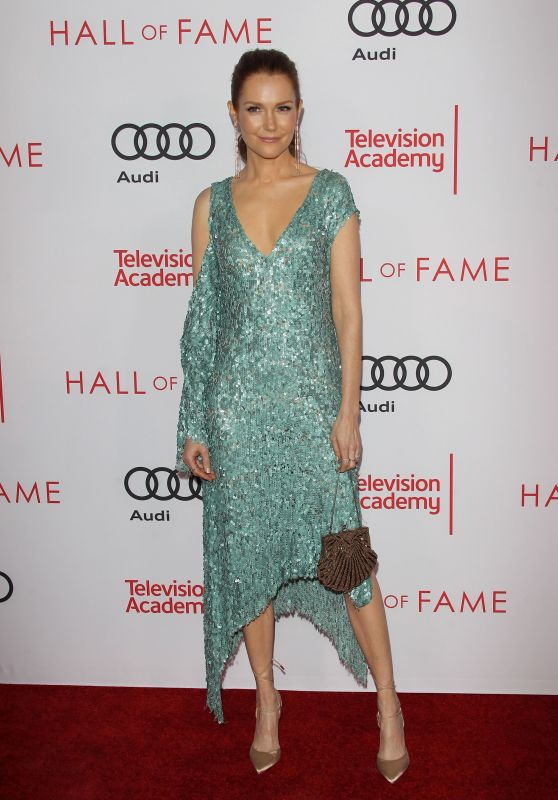 Darby Stanchfield – Television Academy Hall of Fame Ceremony in North Hollywood 11/15/2017