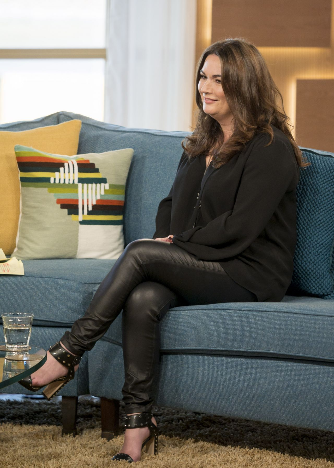 Debbie Rush This Morning Tv Show In London 11 10 2017