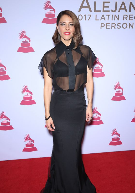 Debi Nova – Latin Recording Academy Person of the Year in Las Vegas 11/15/2017
