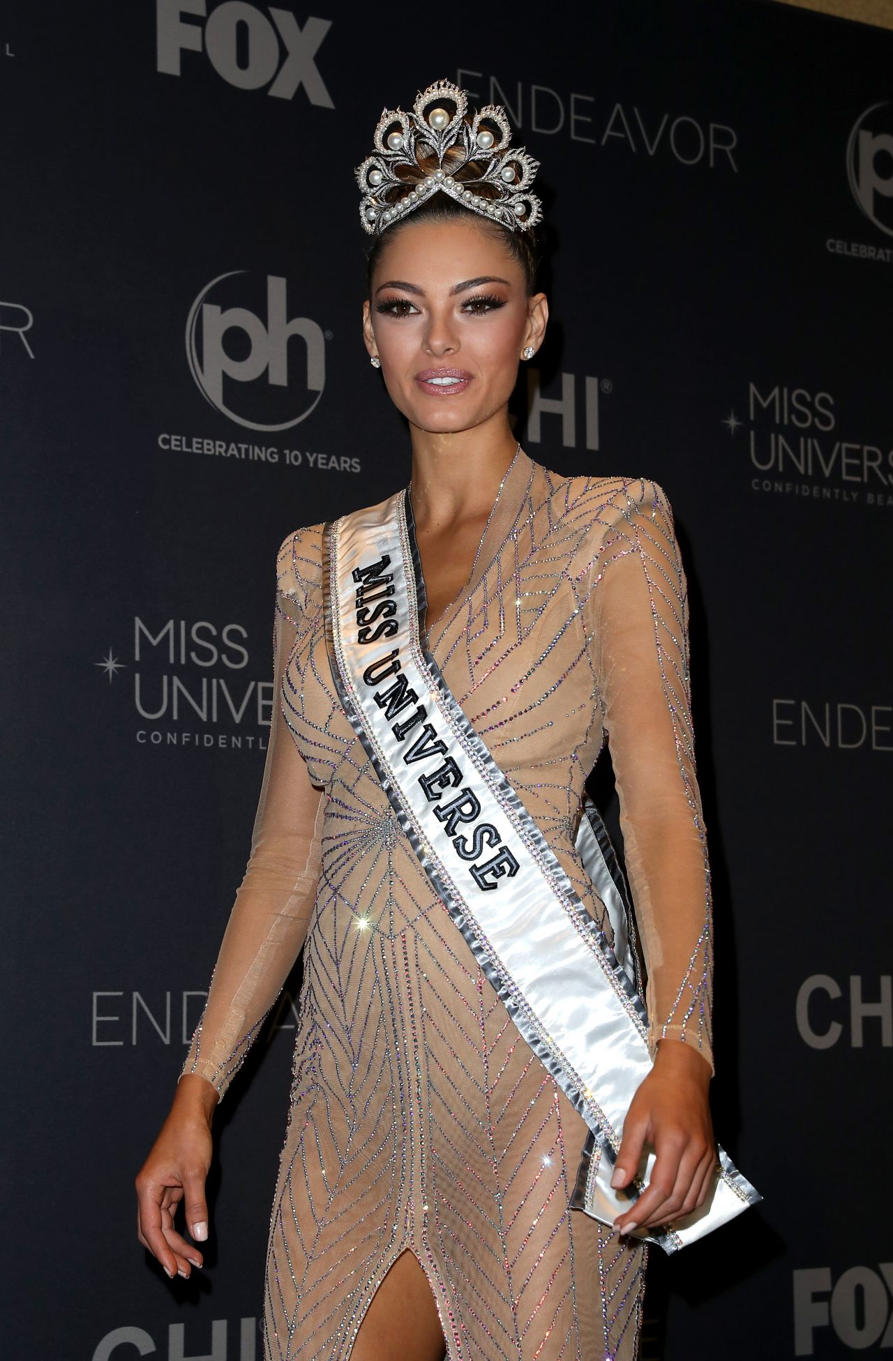 Miss Universe 2018 Name >> Demi-Leigh Nel-Peters – Miss Universe 2017 in Las Vegas