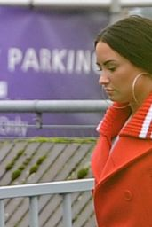 Demi Lovato - Arriving at Heathrow Airport in London 11/15/2017