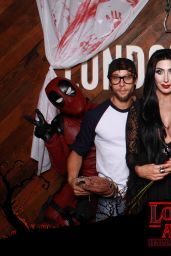 Demi Lovato - Halloween Party Photo Booth 10/31/2017