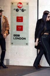 Demi Lovato - Leaves BBC Radio One Studios in London 11/13/2017