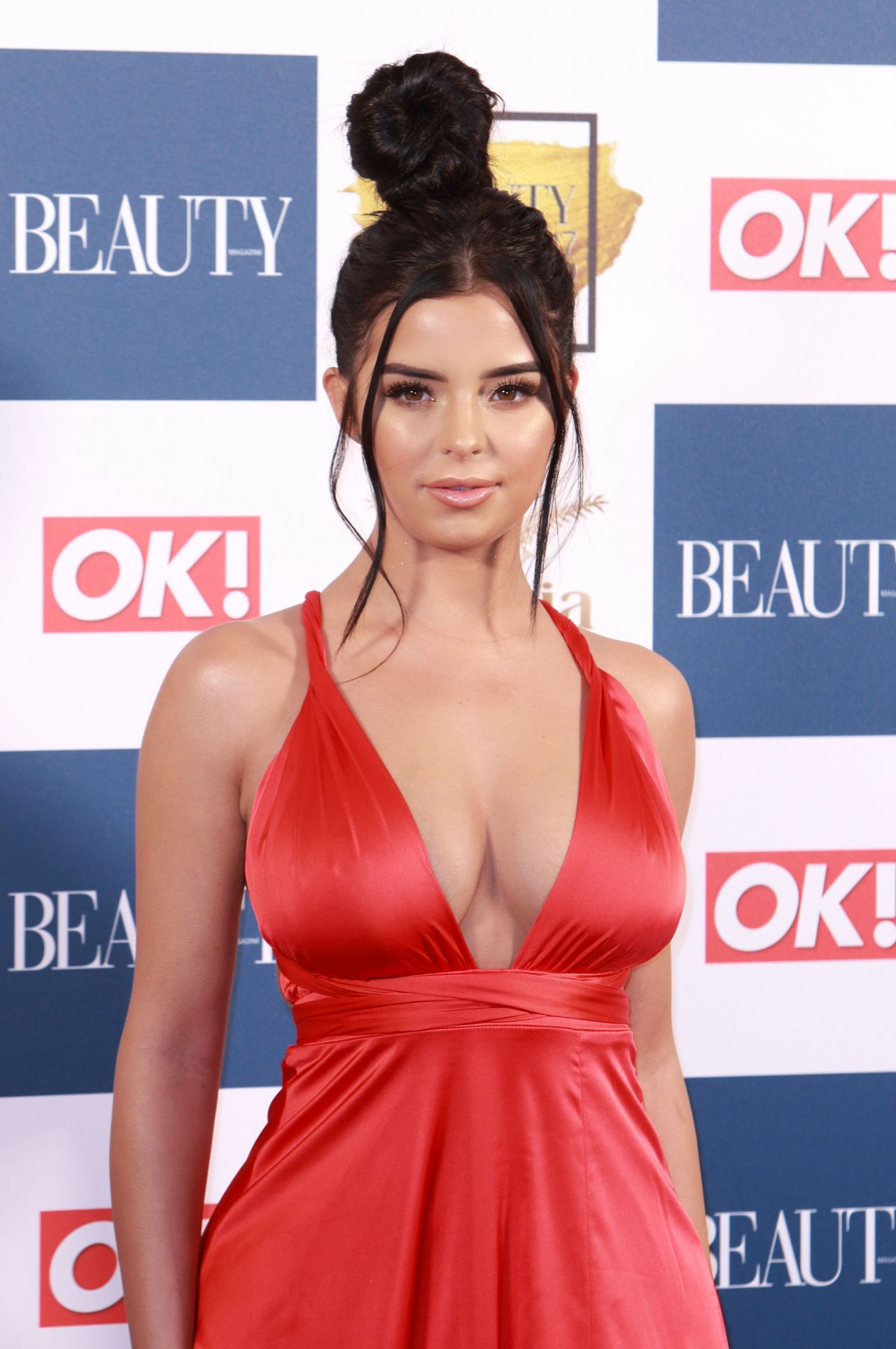 Demi Rose Beauty Awards With Ok In London