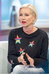 Denise Van Outen - Lorraine TV Show in London 11/22/2017