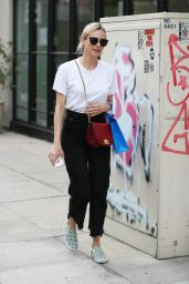 Diane Kruger - Shops at Cotton Citizen on Melrose Place in LA 11/01/2017