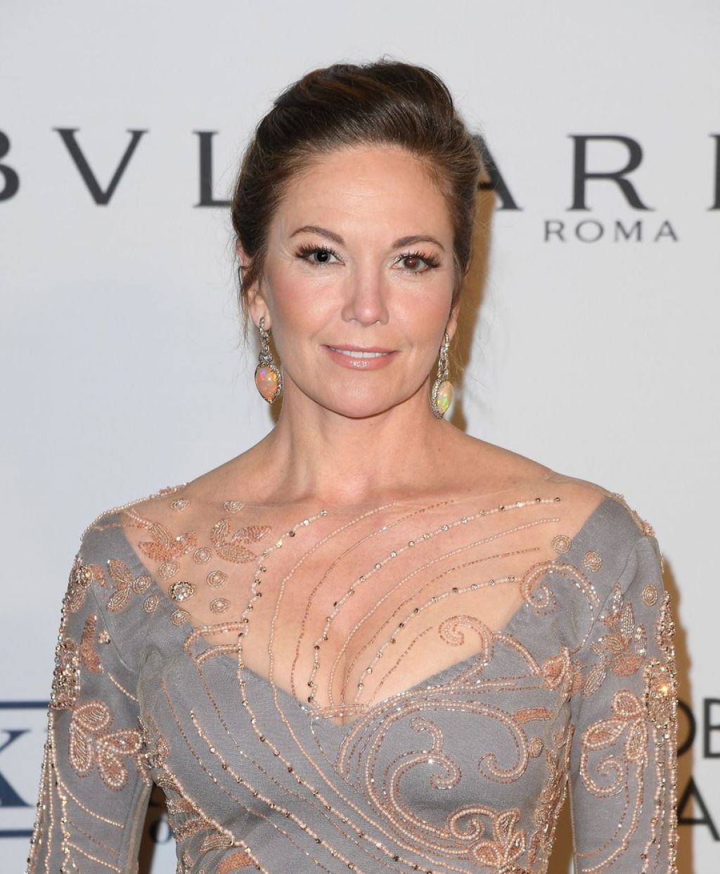 Diane Lane Elton John Aids Foundation 25 Year