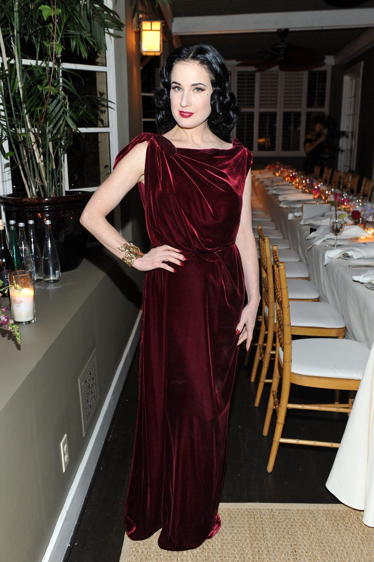 9ccba48f9805 Dita Von Teese - Roland Mouret s The Dinner of Love in LA 11 06