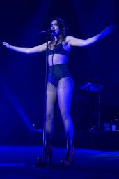 Dua Lipa - Performs at Hammerstein Ballroom in NYC 11/24/2017