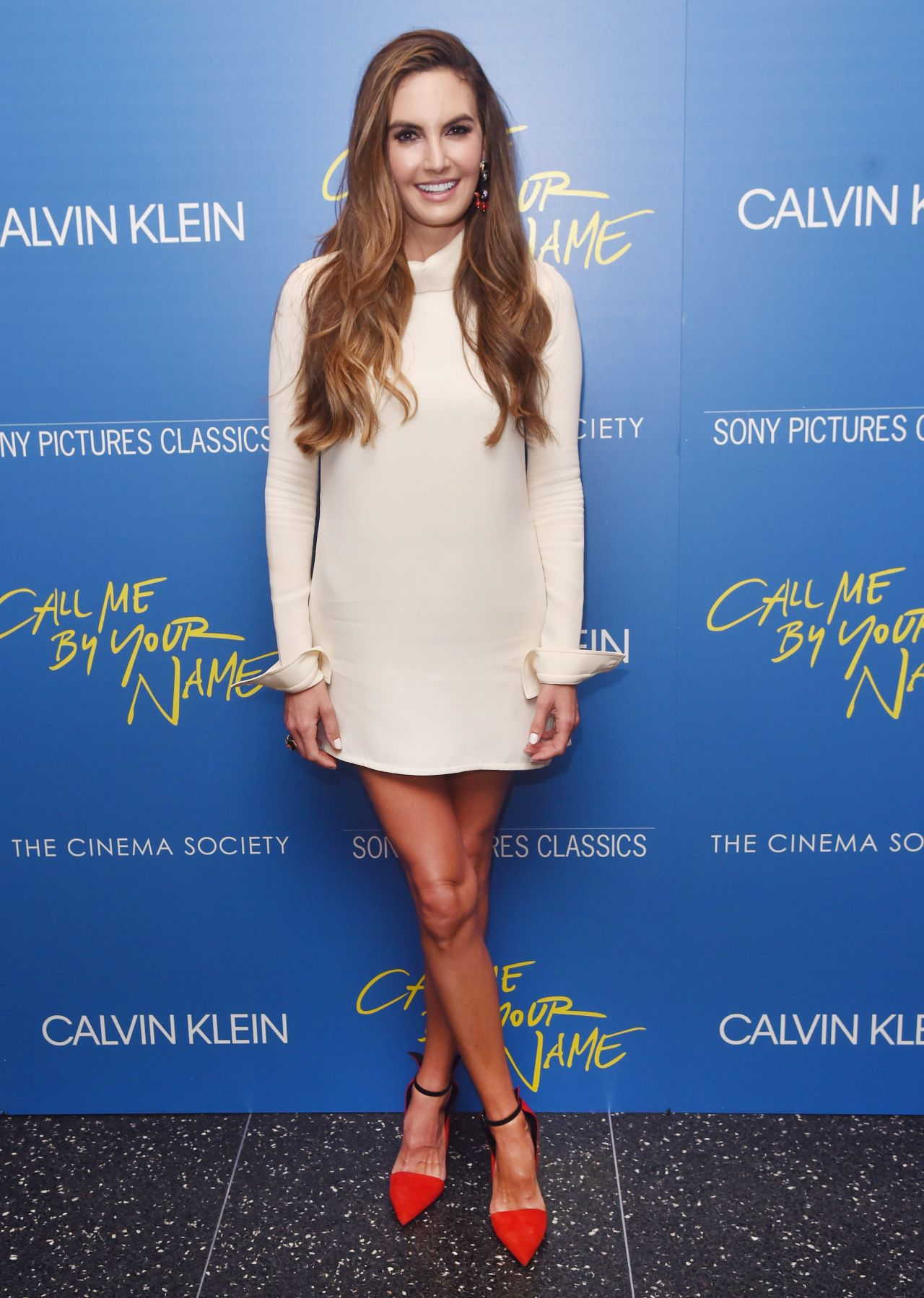 Elizabeth Chambers Call Me By Your Name Screening In New York